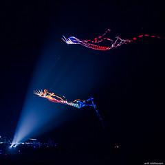 Kite Festival Malmsheim 2015 (e/rol) Tags: light kite colors night de deutschland colours darkness nacht kites kitefestival lightbeams drachen badenwrttemberg drachenfest renningen