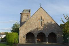 The Robin Chapel, Edinburgh (David_Leicafan) Tags: tower church arch artsandcrafts 35mmsummaronf28 thistlefoundation johnfmatthew