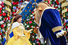 Festival of Fantasy (EverythingDisney) Tags: princess disney parade disneyworld belle beast wdw waltdisneyworld magickingdom beautyandthebeast thebeast batb fof princessbelle festivaloffantasy