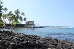 14Oct1213HST Royal Compound at City of Refuge Near Kona (mahteetagong) Tags: cruise hawaii nikon tokina kona cityofrefuge 1224mmf4 d80