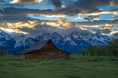 DSC_6182 (2).jpg (tinstafl) Tags: usa mountains clouds barn tetons jacksonhole wy moultonbarn