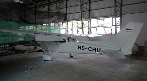HS-CHU Cessna 172M Hua Hin 14Oct15 (Jean Marc Braun)