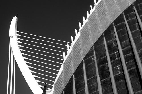 Ciudad de las Artes y las Ciencias (City of Arts and Sciences). Valencia, Spain