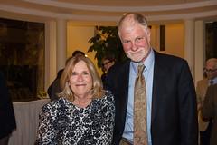 LACO board president Dana Newman and Ned Newman