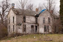 Abandoned Farmhouse (nikons4me) Tags: old house building abandoned farmhouse decay iowa ia decaying nikond200 nikonafsdxnikkor35mmf18g oncewashome