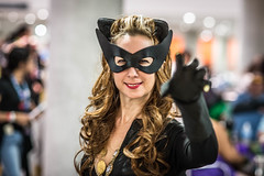 Catwoman '66 (misterperturbed) Tags: newyork catwoman newyorkcomiccon nycc2015 newyorkcomiccon2015