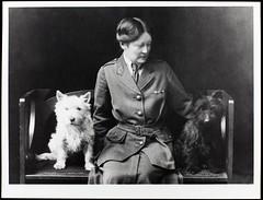 Louisa Garrett Anderson with William and Garrett, c. 1915.