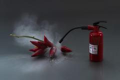 pfuiiii... Appena in tempo! (Antonio Iacobelli (Jacobson-2012)) Tags: nikon df powder 60mm chilli nikkor fireextinguisher bari peperoncino peperoni verdura estintore borotalco su800 sb900 sb700 sb910