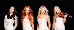 Celtic Woman (1r3s677gR) Tags: ireland ladies girls red irish woman white black hot sexy beautiful musicians hair dance eyes women breasts stage small curves group dancer lips player redhead blond actress singers fiddle mascara celtic females gowns cleavage violinist vocalists desirable