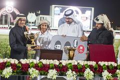 وزير الشباب والرياضة يكرم الفائز بالمركز الاول (Qatar National Day) Tags: درب سباق المسيلة الساعي اليومالوطنيقطر قطر18ديسمبر 18decqatar qnd2015