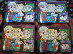 Heavy Chillers Holographic stickers - 11/15/2015 (Mr. MumbleJinx) Tags: usa streetart art stickerart pittsburgh michigan stickers stickertrade mumblejinx stickerporn