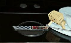 Wax on....wax off... (karmenbizet73) Tags: art classic cars hardtop america toys photography flickr toystory 1984 secretlifeoftoys corvette waxing vroom photooftheday eyespy danbo waxon waxoff 275365 convertiblecars danboard photodevelopment danbolove toysunderthebed 2015365photos
