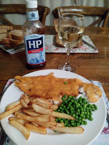 Mon premier vrai fish and chips fait maison!