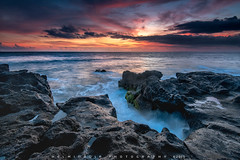 Dusk at Seseh Beach (Helminadia Ranford) Tags: travel light bali seascape beach nature colors indonesia landscape asia seseh