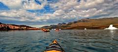 Sea Kayak (Guillem Rivas Castella) Tags: sea ice landscape kayak greenland
