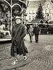 glad rags (judydeanclasen) Tags: streetshot outside cobbles düsseldorf christmasmarket mono shoes gladrags