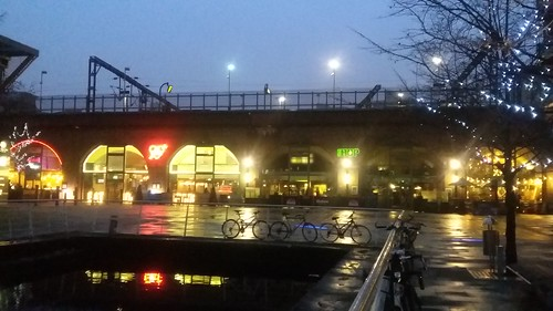 Granary Wharf, Leeds. Under the Railway
