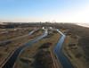 Heemskerk-Kieftenvlak (2) (de kist) Tags: kap thenetherlands heemskerk wijkaanzee noordhollands duinreservaat pwn kieftenvlak infiltratie infiltratiegebied drinkwaterzuivering duinen zee noordzee northsea tatasteel luchtfotografie aerialphotography