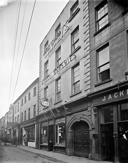 View of Café in George's Street : commissioned by Messrs O'Brien, Patrick Street, Waterford