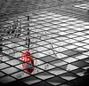 Stop and Reflect (tisatruett) Tags: reflection puddle water stop sign stopsign abstract sidewalk brick rain rainy day dogwood2017