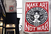 Pasted paper by Obey [Paris 3e] (biphop) Tags: europe france paris streetart mur wall pasted paper pasteup collage wheatpaste wheatpaper obey shepard fairey make art war