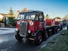 Stotfold christmas run 2016 (Ben Matthews1992) Tags: stotfold christmas roadrun 2016 bedfordshire old vintage historic preserved preservation vehicle transport haulage classic chequers pub frosty morning aec mammoth major flatbed phorpres bricks londonbrickcompany london bew605 1939 77 lorry truck wagon waggon commercial