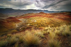 Painted Hills (Doug Harms) Tags: paintedhills oregon landscape canon outdoor color wide angle lens light nature