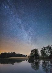 Clear Night (Saztul) Tags: nacht night milkyway landscape landschaft milchstrase thülsfeldertalsperre sky stars longexposure langzeitbelichtung sterne