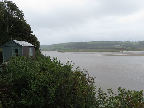 Laugharne - Dylan Thomas's writing hut