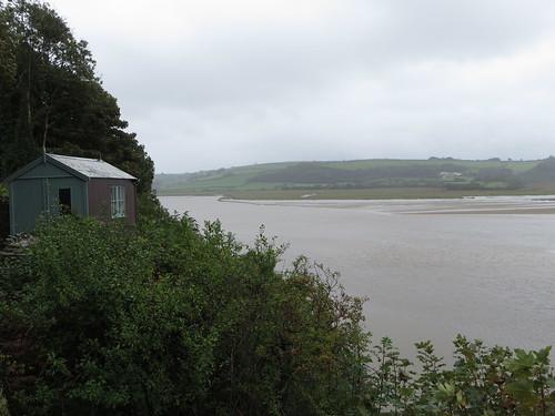 Laugharne - Dylan Thomas's writing hut