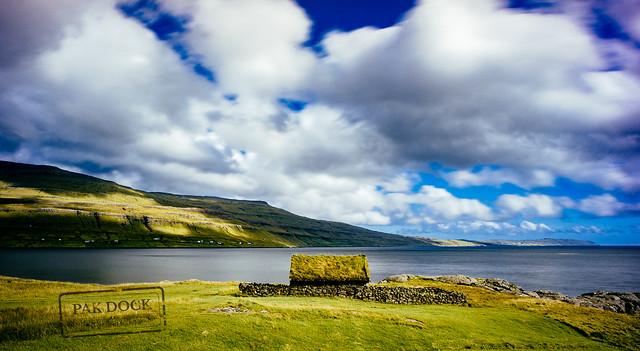 A house in a fjord of Streymoy - Faroe Islands
