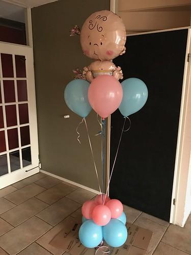 Ballonboeket Geboorte Baby Babyshower