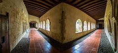 Claustro Monasterio Gradefes (dnieper) Tags: panorámica claustro monasterio gradefes león spain españa