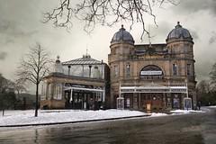 Buxton Opera House snow (PentlandPirate of the North) Tags: buxton opera house derbyshire snow