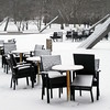Alles besetzt (h.d.lange) Tags: berlin britzergarten winter stuhl tisch gartenlokal schnee