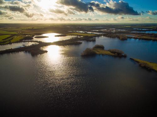 Across Fen Drayton Lakes