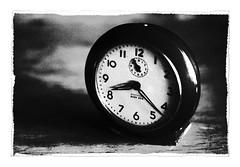 Untitled 201 (Takako Kitamura) Tags: bw blackwhite clock westclox