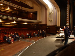 20170120 Pigeon Auction in Blackpool Opera House (blackpoolbeach) Tags: blackpool opera house homing pigeon auction auditorium balconies stage proscenium arch