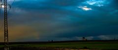 Hint of Rainbow Over Farmland (Swede1969) Tags: hickman denair silo keyes 3652017