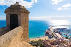 Alicanten kokemuksia (anna_koskela) Tags: mediterraneancountries costablanca alicanteprovince comunidadautonomadevalencia spain landscape mediterraneansea santabárbaracastle travel tourism valenciaspain churro tapas