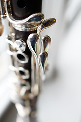 Uebel Preference clarinet (Z!SL) Tags: nex5r mirrorless sonyphotographing sony sonynex minoltaemount sel24f18z sel24f18 sel24f18za sonnarte1824 sonnar sonnar2418za emount clarinet closeup woodwinds woodwind reeds uebel uebelpreference instruments music dof bokeh depthoffield bokehwhores