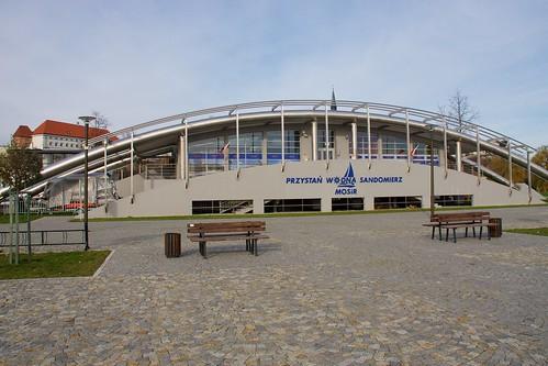 Budynek Przystani Wodnej Sandomierzu