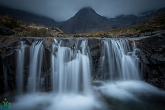 Fairy Pools Waterfall - Isle of Skye (James G Photography) Tags: alltcoiramhadaldh blackcuillin cuillin fairypools glencbrittle isleofskye moody raining river riverbrittle scotland scottish water waterfalls glenbrittle unitedkingdom gb