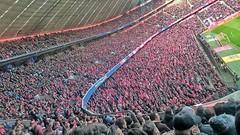 DREI-NULL: danke !!! ... bitte !!! (CiccioNutella) Tags: fcbayern fussball allianzarena bundesliga football stadium kurve tribune nord eintrachtfrankfurt 201617 sonyz3compact sonyxperiaz3compact smartphone bayernmunchen munich block246 people sport crowd culture supporters red white miasanmia arena field norden