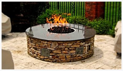 Custom HPC Firepit. Harrison, Tn.