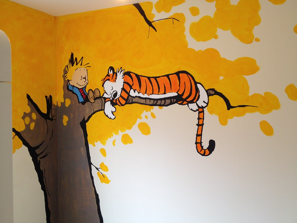 Modern Calvin And Hobbes Wall Art Festooning Wall Art Collections