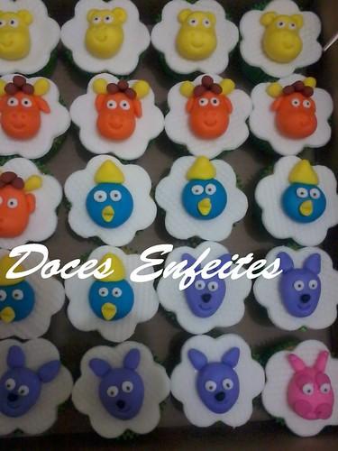 Cupcakes Decorados Festa dos Backyardigans