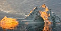 Iceberg, Just Waiting for a Ship.., (sjrankin) Tags: ocean edited nasa iceberg 30august2015