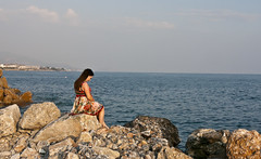 Maternity (mrs_fedorchuk) Tags: ocean summer vacation portrait sky selfportrait beach canon turkey heaven pregnancy sunny august pregnant alanya dolcegabbana meternity mothertobe lindex mommytobe vacation2015
