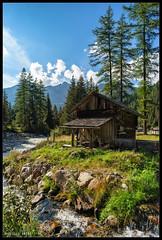 Wellness (Facciamo2Scatti) Tags: verde alberi nuvole natura cielo acqua ruscello piante azzurro montagna paesaggio vacanze mulino altoadige torrente camminare sudtirol facciamo2scatti alessiobrinati